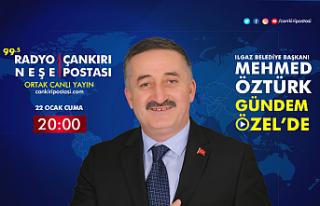 Ilgaz Belediye Başkanı Mehmed Öztürk Gündem Özel'in...