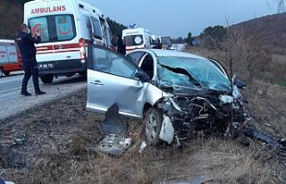 Ilgaz'da feci kaza! 2 kişi öldü...