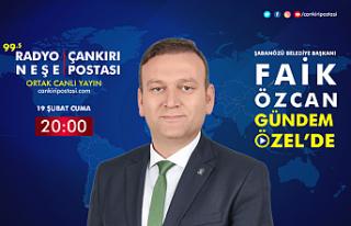 Şabanözü Belediye Başkanı Faik Özcan, Gündem...