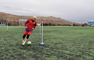 1074 Çankırspor BAL ligi hazırlıklarına devam...