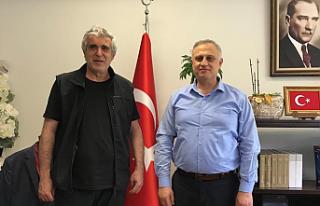 Ankara İl Sivil Toplumla İlişkiler Müdürü İpekyolu'na...