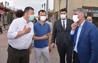Bakan Yardımcısı Alpaslan Çerkeş'te Esnaflara...