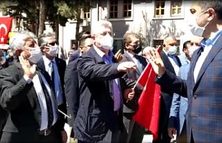 Çankırı'da 19 Mayıs Töreninde İstiklal Marşı...
