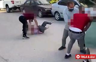 Çankırı'da sokak ortasında şiddete tutuklama...