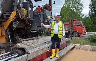 Ilgaz'a 8 milyon liralık asfalt yatırımı!
