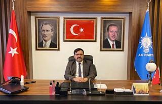 AK Parti İl Başkanı Abdulkadir Çelik'ten...