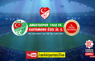 Amasyaspor - Kastamonu Özel İdare Spor çeyrek final...