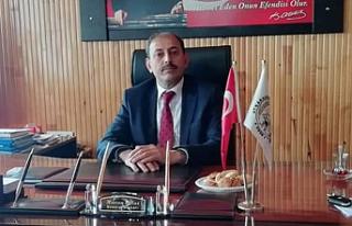 Atkaracalar Belediye Başkanı Harun Oflaz'ın Kurban...