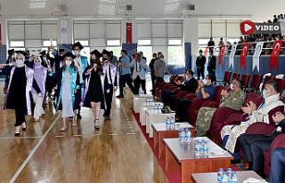 Çankırı Karatekin Üniversitesinde mezuniyet töreni...