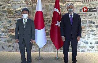 Çavuşoğlu, Japonya Dışişleri Bakanı ile görüştü