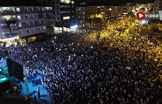 Çankırı'da 30 Ağustos Zafer Konserine binlerce...