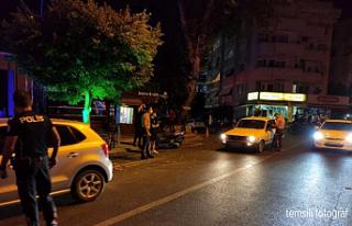 Çankırı'da yüksek sesle müzik dinleyen şehir...