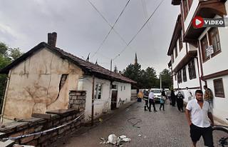 Çankırı'da mühendislik hatası duvar, evi sel...