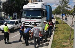Çankırı'da yaya yolunda trafik kazası! 1 kişi...
