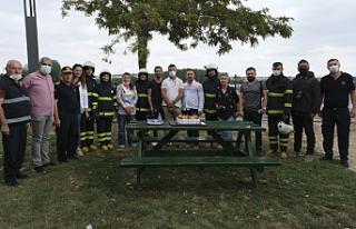 Edirne'de yangın var diye geldiler, 'mumları'...