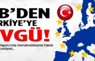 AB'den Türkiye'ye övgü