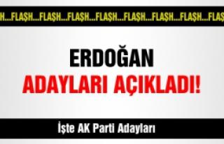 AK Parti Belediye Başkan adayları belli oldu