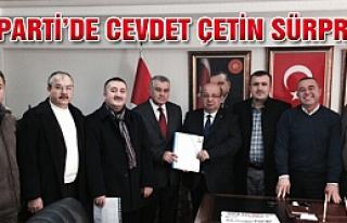 Ak Parti'de Cevdet Çetin sürprizi!