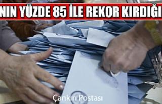 AKP'nin yüzde 85 ile rekor kırdığı ilçe