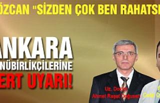 Vali Özcan'dan Ankara günü birlikçilerine sert...
