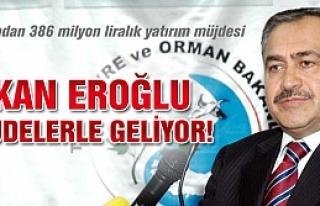 Bakan Veysel Eroğlu yatırım müjdeleri ile Çankırı'ya...