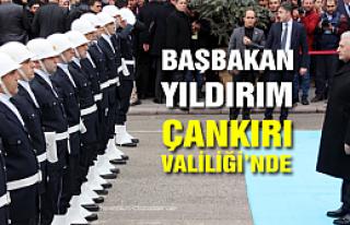 Başbakan Binali Yıldırım Valiliği ziyaret etti...