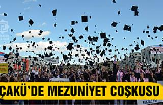 ÇAKÜ'de mezuniyet coşkusu