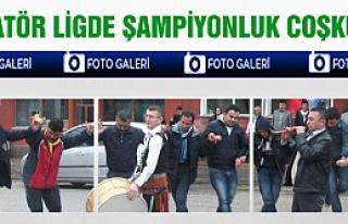 Çankırı Amatör Ligde Şampiyonluk Coşkusu!