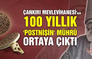 Çankırı Mevlevihanesi'nin 100 yıllık 'postnişin'...