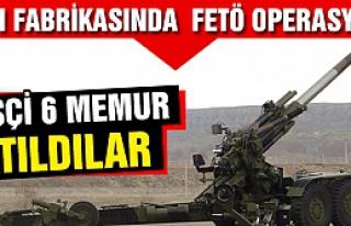 Çankırı Silah Fabrikasında  FETÖ operasyonu!