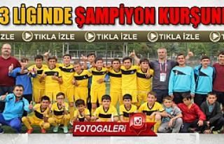 Çankırı U13 Futbol liginde Şampiyon Kurşunlu...