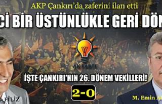 Çankırı'da AKP zaferini ilan etti, muhalefet sessizliğe...
