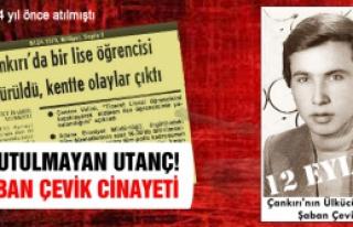 Çankırı'da bir lise öğrencisi öldürüldü,...