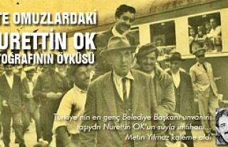 Çankırı'da evlerden suyu akıtan ilk adam Nurettin...