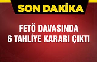 Çankırı'da FETÖ davasında 6 tahliye kararı çıktı!...