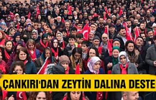 Çankırılı Kadınlardan Mehmetçiğe Destek Mitingi...