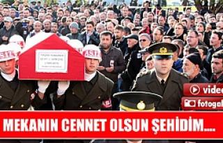 Çankırılı şehid Yaşar Yeniören son yolculuğuna...
