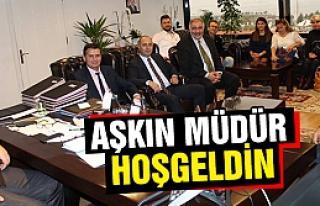 Çankırılılar İzmir Emniyet Müdürünü ziyaret...
