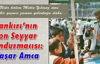 Çankırı'nın Son Seyyar Dondurmacısı: Yaşar...