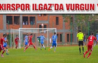 Çankırıspor Ilgaz'dan ağır yenilgiyle ayrlıyor!