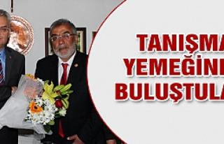 Yeni meclis Vali Özcan'la tanıştı!