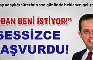 """Çivitçioğlu"""" Taban beni istiyor!"""""""
