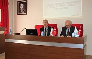 ÇÜVAK 2013 Yılı Mütevelli Heyet Toplantısı...