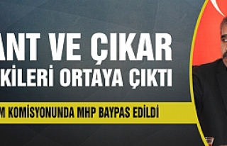 Denetim komisyonunda MHP baypas edildi!