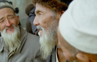 Dünyanın en yaşlısı bir Uygur kadın