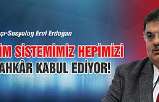 """Erdoğan, """"Eğitim sistemimiz hepimizi günahkâr..."""