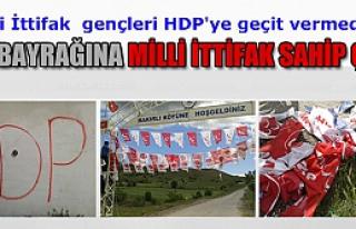 MHP bayrağına Milli ittifak sahip çıktı!
