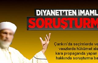 Hükümeti kötüleyen 3 imama soruşturma