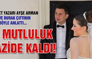Hürriyet yazarı Ayşe Arman Aydan ve Burak çiftinin...