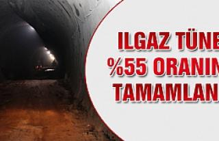 Ilgaz Tüneli %55 oranında tamamlandı!